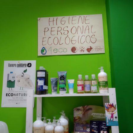 Higiene personal y cosmética ecológicos